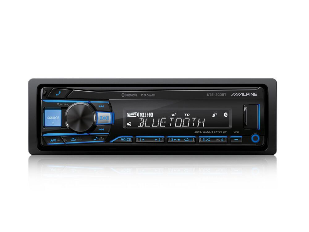 DIGITAL-MEDIA-RECEIVER-WITH-BLUETOOTH_UTE-200BT_Front-Blue